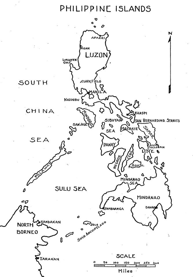 philippine map clipart black and white - photo #26